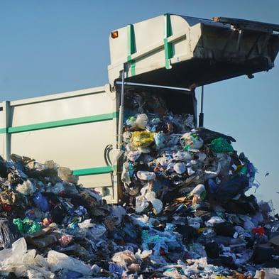 waste transportation garbage truck